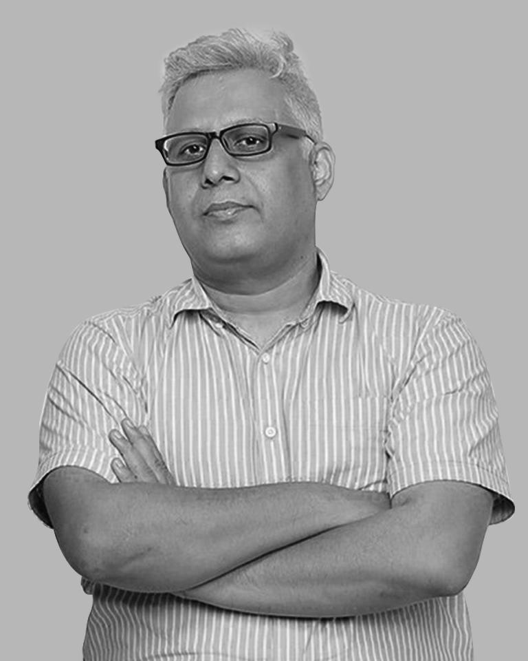 Manish Bhatt from an advertising agency