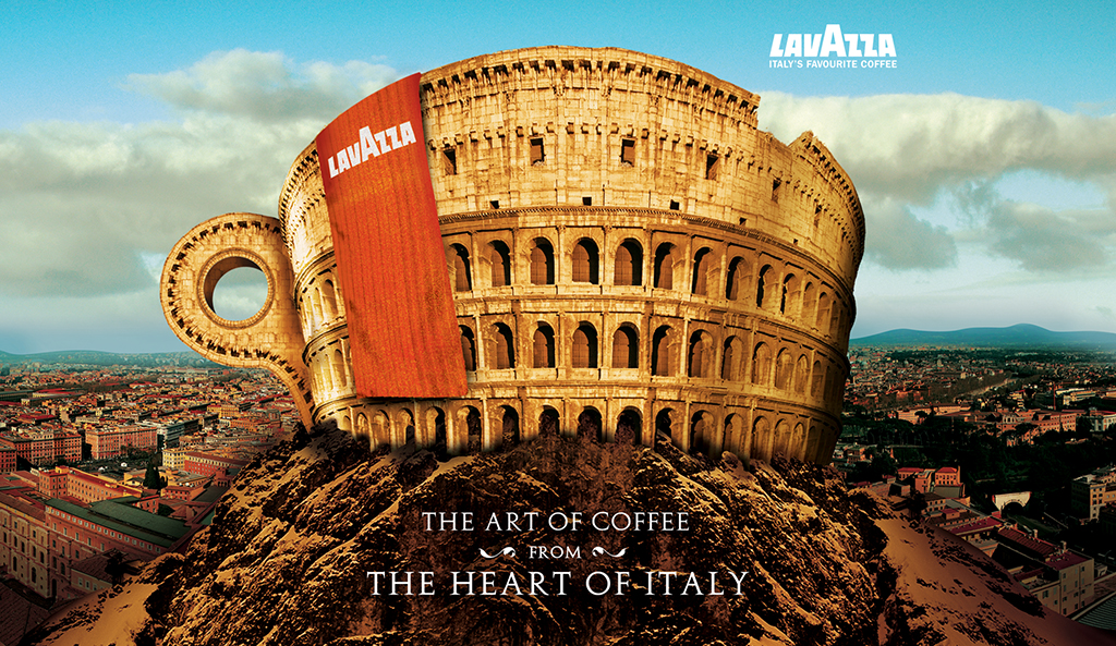 Barista Lavazza creative design 2