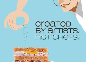 Bueno sandwich brand creatives