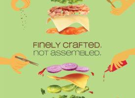 Bueno sandwich creatives