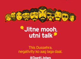 Mobile brand Dussehra social Post