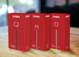 Comio mobiles packaging design