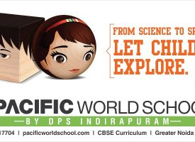 Pacific World School Hoarding Ad
