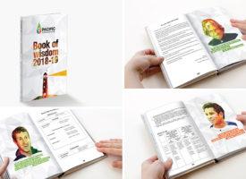 pacific school anual book design