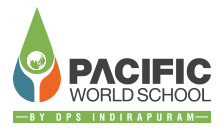 pacific world school logo design