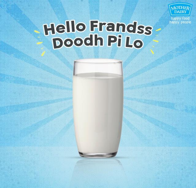 Mother Dairy meme post